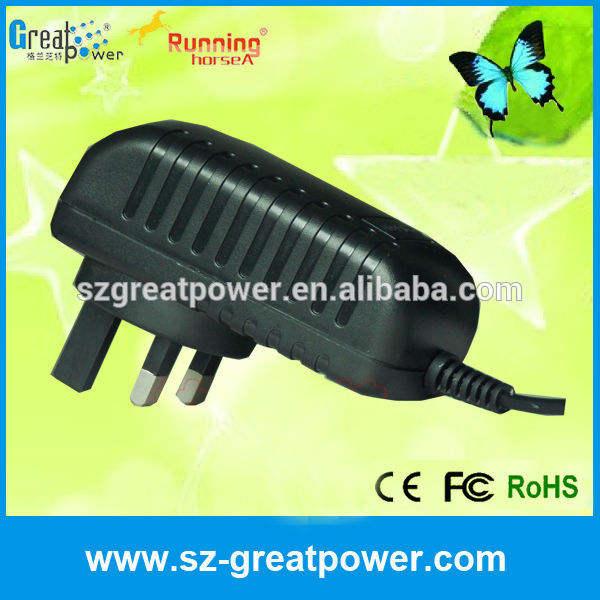 5-12v parede plug ac dc adaptador de energia fabricante&& fornecedores exportadores