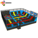 Wholesale professional foam cube blocks kids indoor rectangular bungee jumping trampoline park