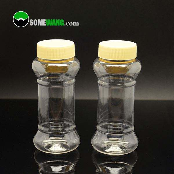 ODM Available Free 3D Mock-up plastic honey pet bottles