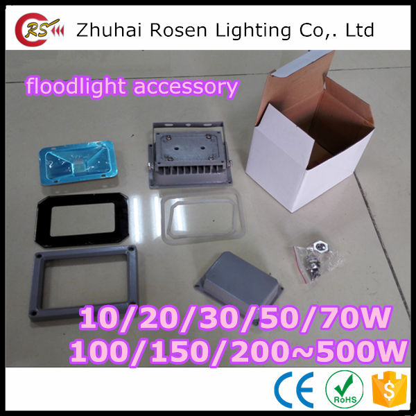 underwater rgb 10w 20w 30w 50w 100w 150w 200w COB SMD LED floodlight flood light SKD parts die cast aluminum housing driver