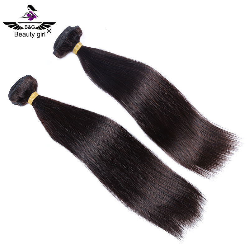 Raw Philippine virgin hair natural straight hair extensions