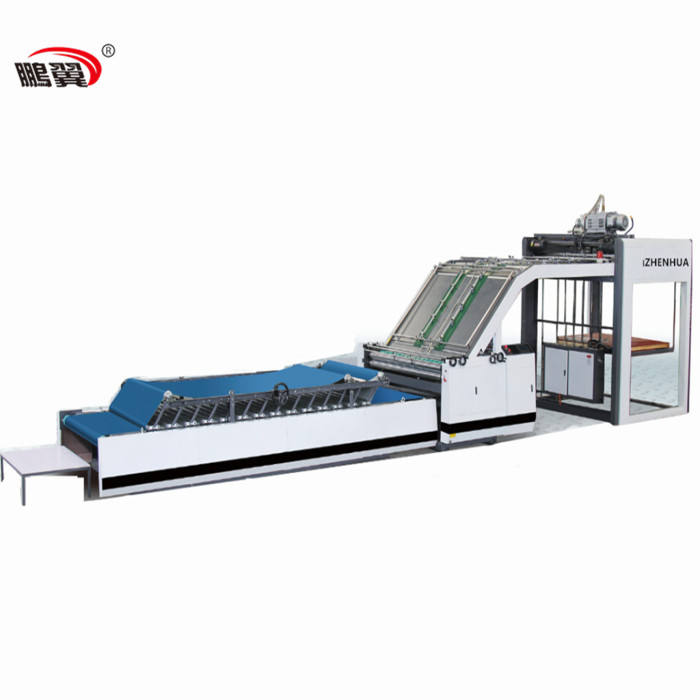 ZH / TMQG1500 High Speed Paper Glue Digital Laminating Machine For Box