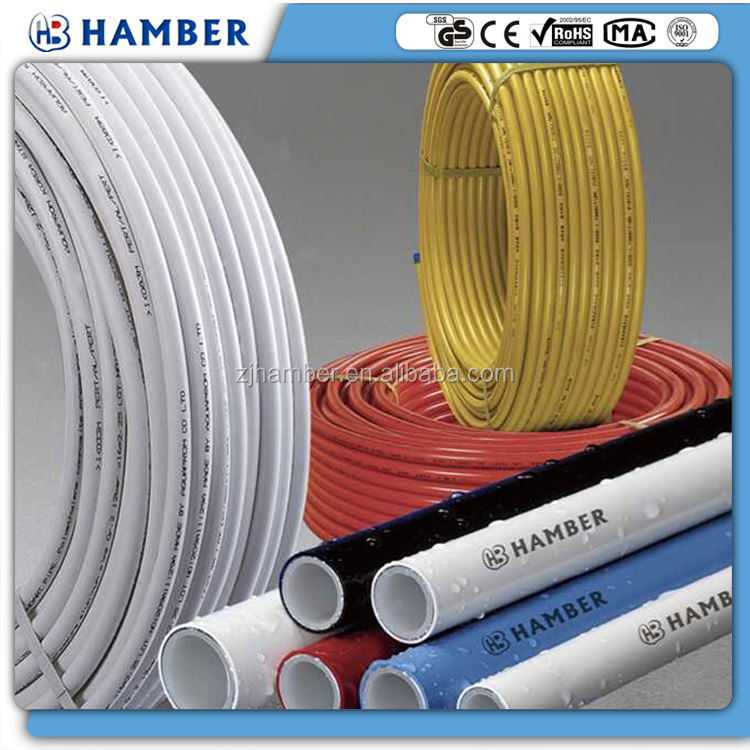HAMBER pex al pex underfloor multilayer floor heat pipe aluminium plastic hot water pert heating pipe