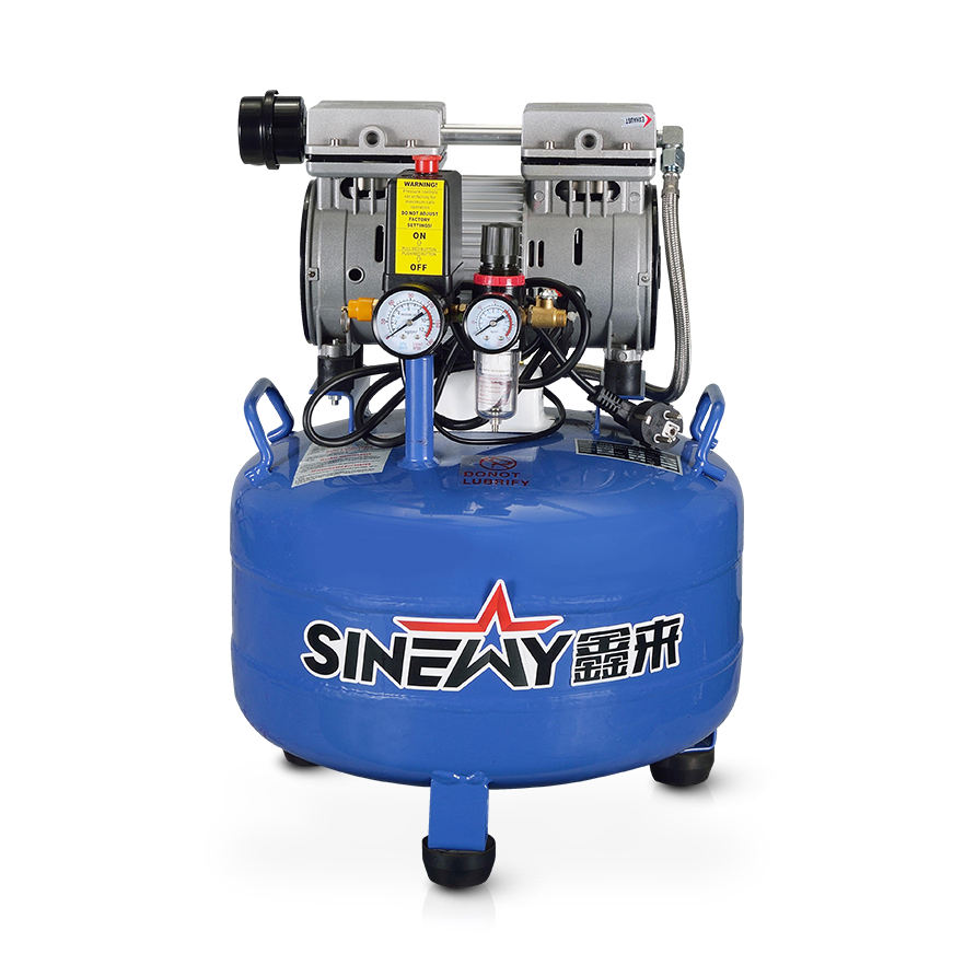 Mini oil free silent medical dental air compressor