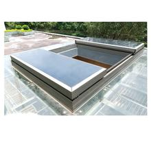 Hot selling Automatic sliding skylight for roof with built in blind