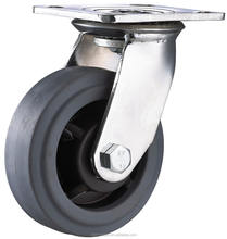 "5"" Swivel Rubber Industrial Caster wheels"