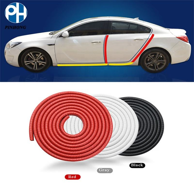 5 Meters Car Door Plastic Edge Trim