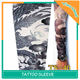 Chinese Phoenix Ladies Spandex Artificial Tattoo Sleeves