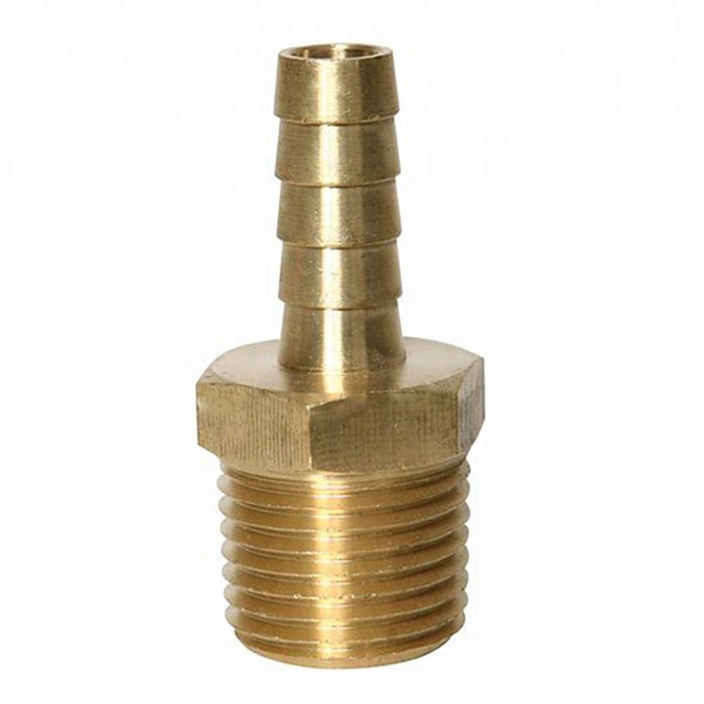 "Customized 1/2"" Brass Male Thread Hose Barb Fitting"