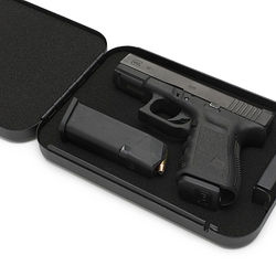 Mechanical Code Lock Pistol Travel Hand Gun Safes for Sale