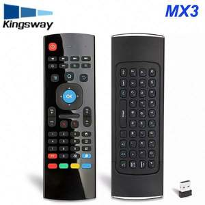 2.4g Wireless Controller MXIII MX3 Backlit Remote Control for Smart Android TV Box PC MX3 Voice Air Mouse