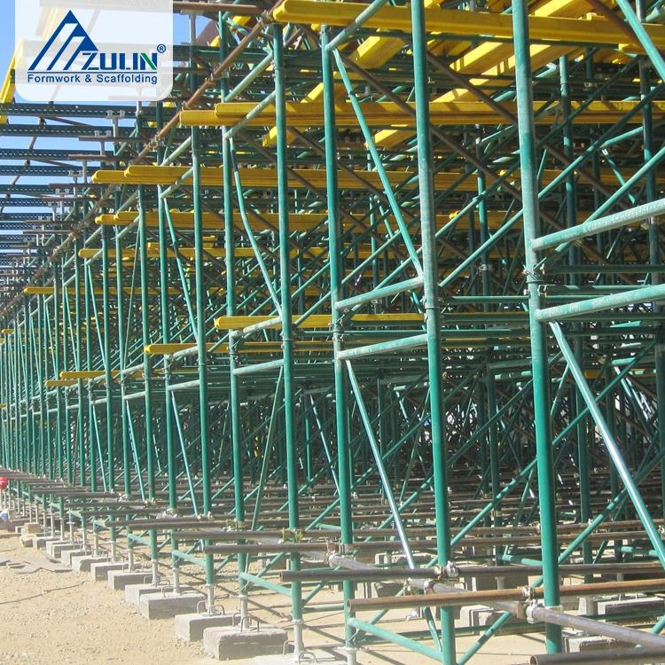 ZULIN steel stage lighting scaffolding shoring frames for bridge