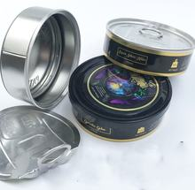 Push In Base self seal Tuna Cans 100ml for 3.5gram storing dry flower
