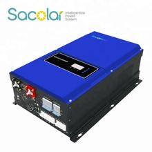 Max PV charge current 80a  inverter 8KW 10KW 12KW Off Grid Low Frequency Solar SUV Inverter with MPPT Charge Controller
