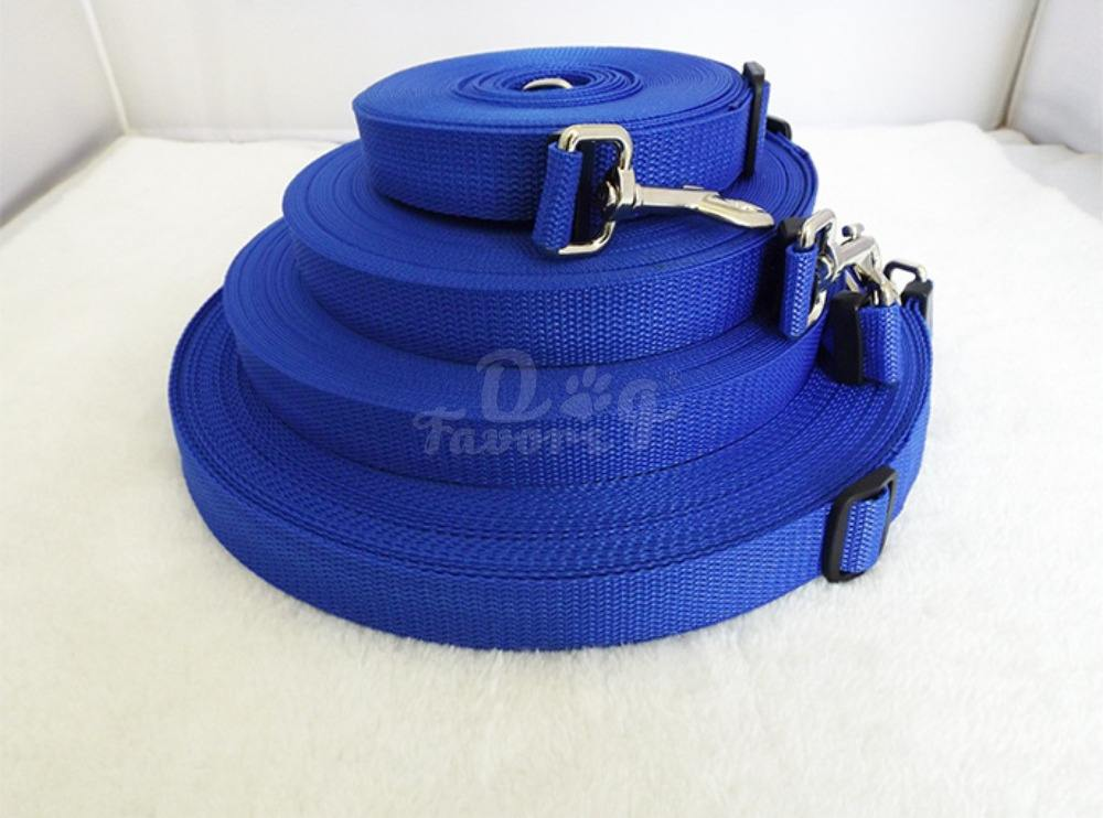 Hot Selling Adjustable Practical 1.8M 4.5M 6M 9M 15M Pet Dog Traction Rope Leash Trainging Lead Chain Strip