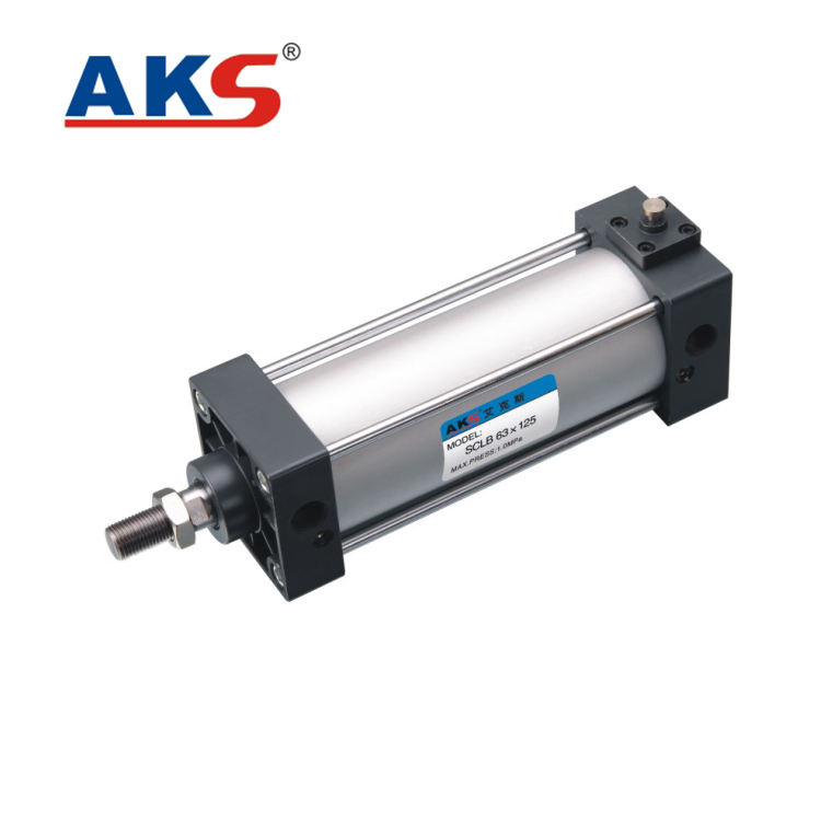 Top quality SC series standard aluminum pneumatic double acting air cylinder made in china