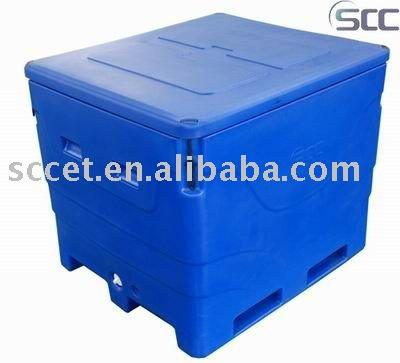 600L Rotomolded Fish Box Fishing Tackle Cooler Box