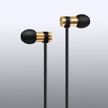2018 Newest Small in ear earphone super bass metal headset with mic for cell phone