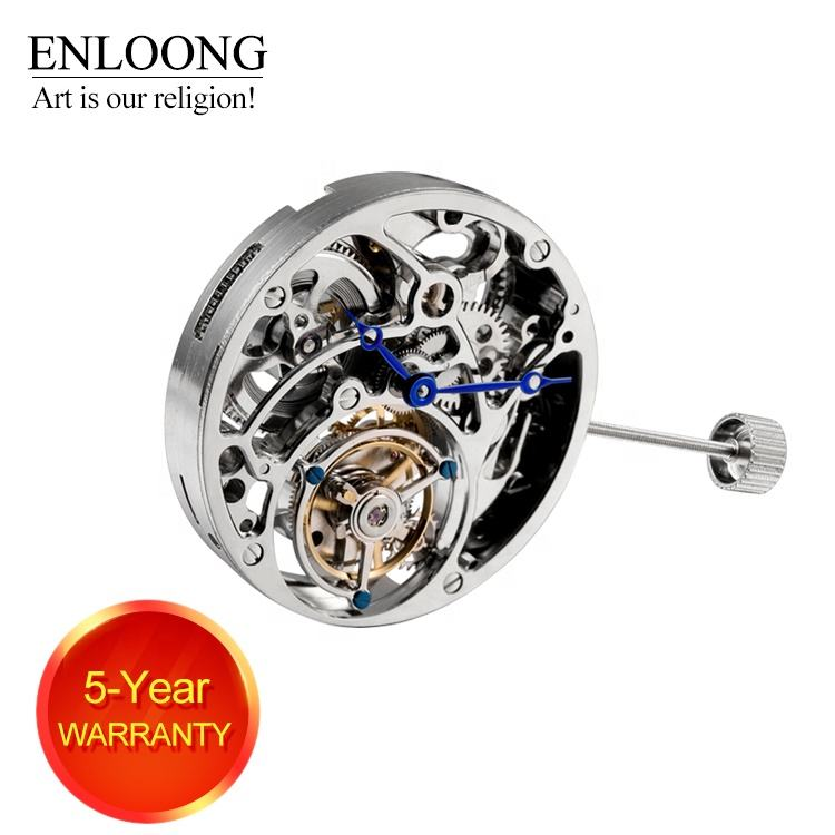 ENLOONG Flying Tourbillon Movement Men Luxury with Hand Winding 19 Jewels OEM Logo Engraved ELT3350A tourbillon movement