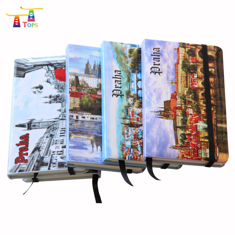 Cover Wholesale A5 Spain Tourist Souvenir Cmyk Color Printing 2018 Business Diary Custom Vatican City Paper Notebook