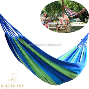 Outdoor Canvas Bed  Ultralight Camping Outdoor Portable cotton canvas hammock