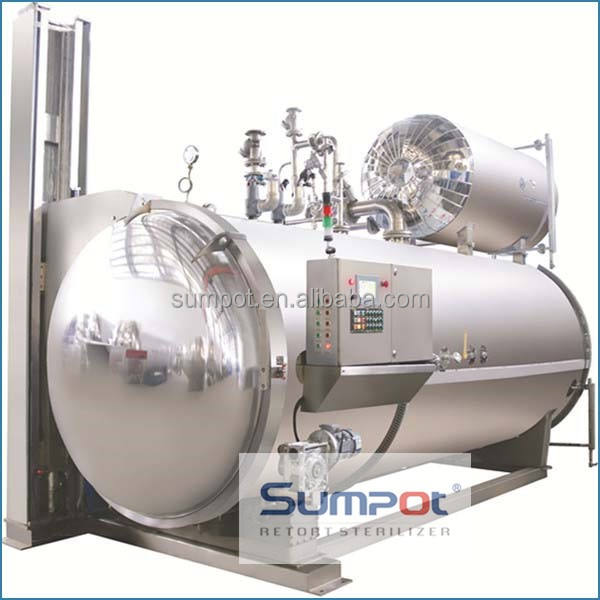 steam autoclave canning retorts
