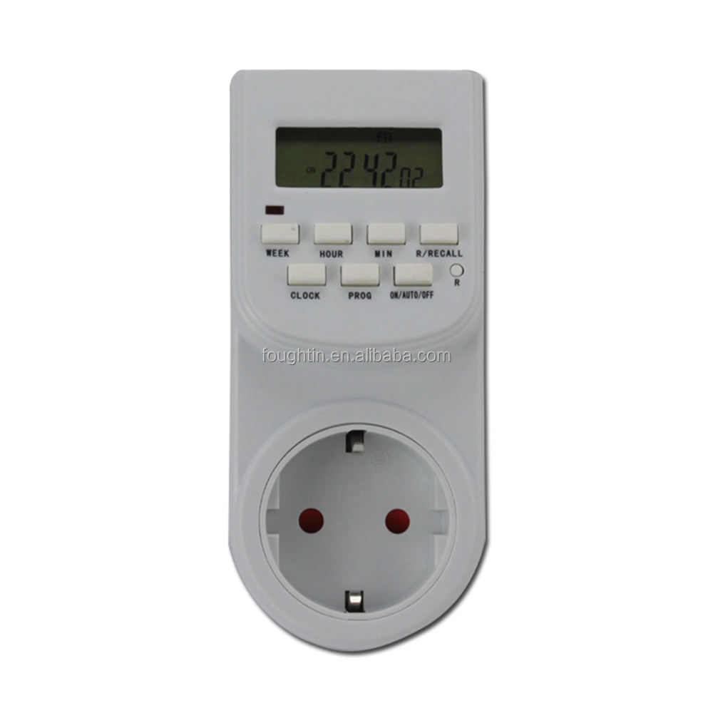 German/European Weekly Countdown timer Electronic Digital Timer