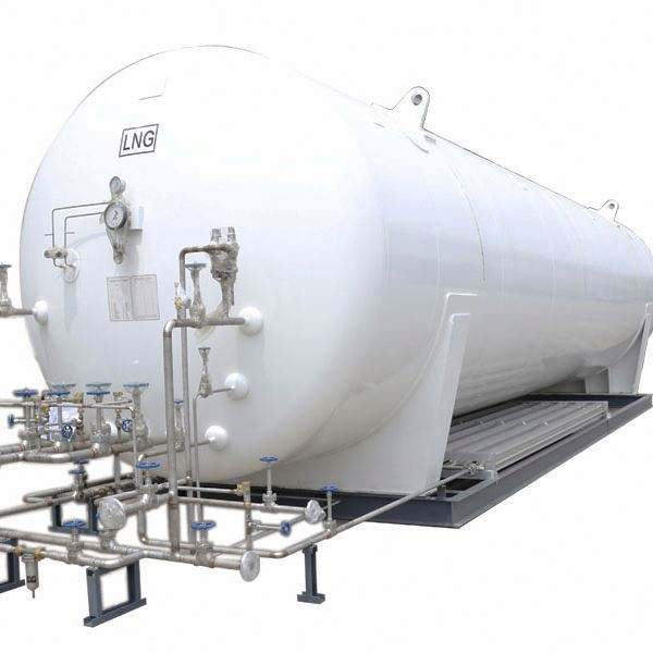 Cryogenic liquid oxygen storage tank for hospital center oxygen supply system