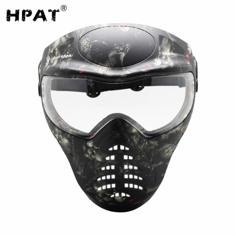 Paintball ใหม่บันทึกเฟส Tagged Series Goggles Mask - Ghost Stalker