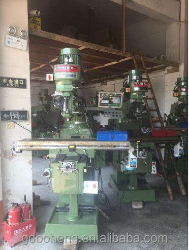 1500 * 1600 * 2000 dimension industrial used milling machine with 5 years warranty