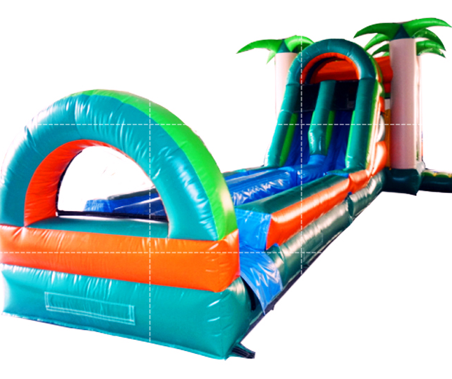 commercial inflatable blow up slip and slide for sale for adults