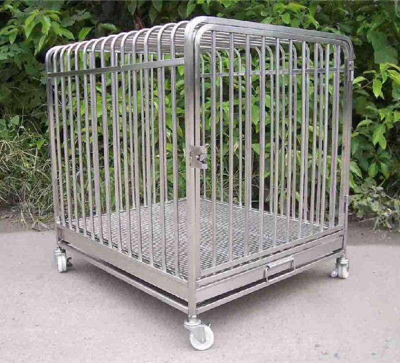Wholesale custom made cheap price high quality stainless steel wire mesh dog cage