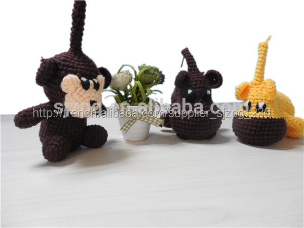 Crochet mignon jouet animal, jouets tricotés à la main, ted <span class=keywords><strong>ours</strong></span> jouets <span class=keywords><strong>en</strong></span> crochet