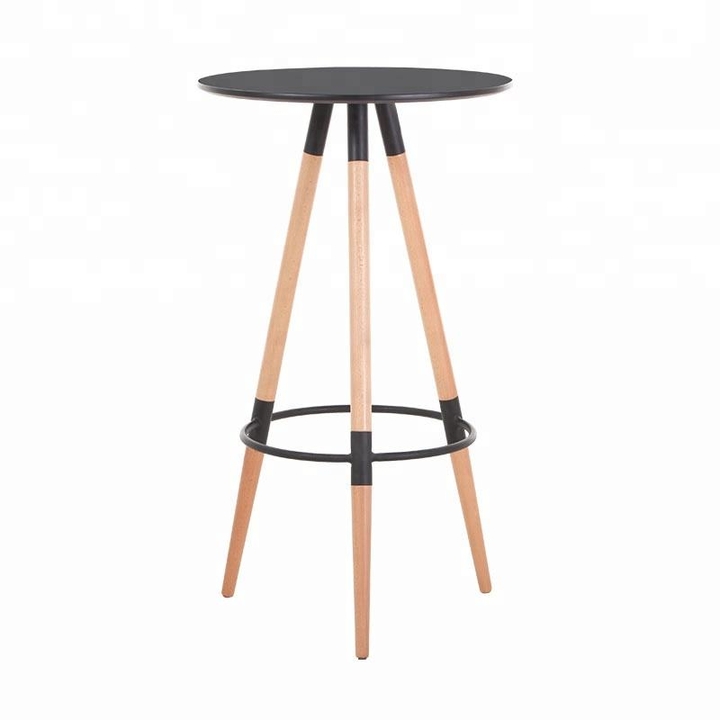 Modern high quality MDF cocktail high bar tables for bar furniture