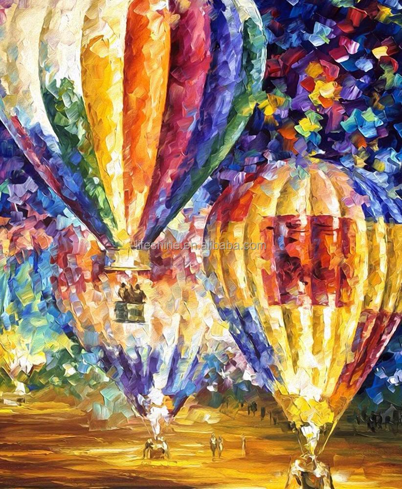 Картина с шариками воздушными