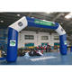 Inflatable angle archway,standard inflatable arch,inflatable racing arch