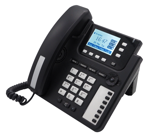 3 SIP accounts Voip A20 business phone HD voice Support Multi-language