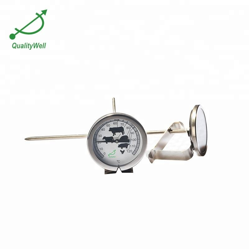 meat bimetal temperature gauge portable thermometer