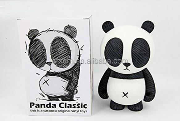 Custom Your Own Design Kawaii Doll Animal Giant Panda Action Figure for Kids Gift/OEM Make Moveable Animal Action Figure Factory