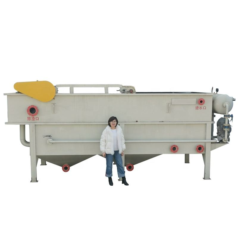 Flat-Flow Type Air Flotation Machine Remove Oil Wastewater Treatment Device