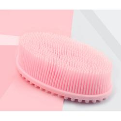Super Ultra Soft Anti-bacterial Manual Facial Cleansing Silicone Body Scrubber Bath Brush