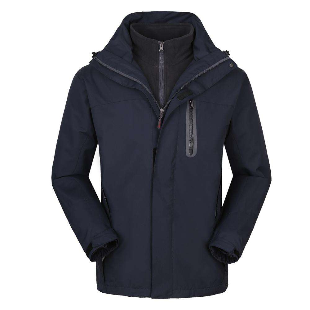 Water proof Soft shell Warm Jacket Man