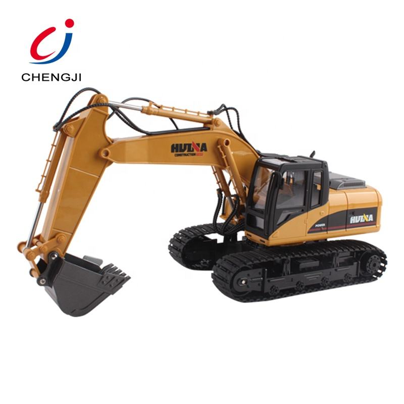 New hot 1:14 15 channel remote control rc metal excavator