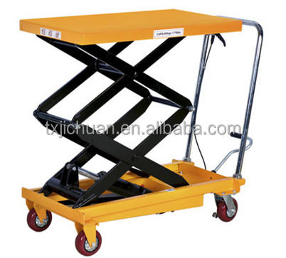China Manual Scissor Lift Platform Mini Scissor Lift Table