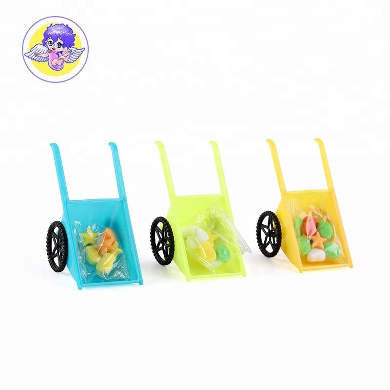 Novelty Small Garden cart ของเล่น 3G กด Candy
