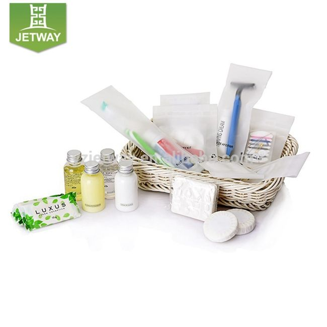 Wholesale hotel supply kit bath soap special design charming personal care disposable amenities set hotel amenities in stock