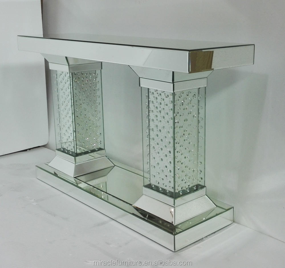 Diamond Crystal Mirrored Hall <span class=keywords><strong>Manier</strong></span> Console Tafel