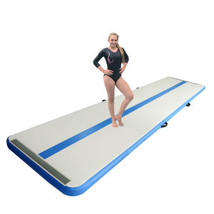 Yijia Air Tumbling tapis gymnastique Air Track 4 5 M gonflable Airtrack entraînement ensemble pour gymnase