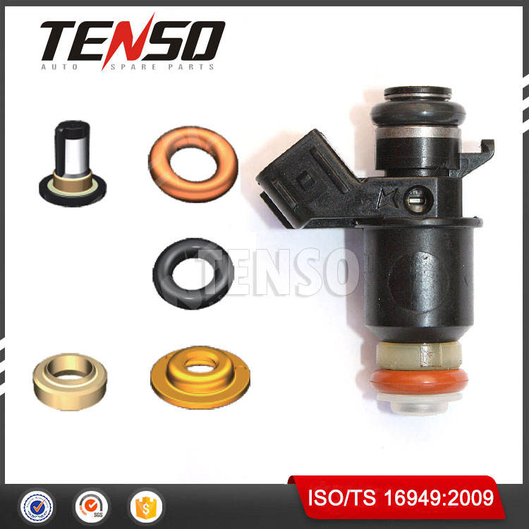 2001-2005 Per HONDA CIVIC 1.7l LX DX FUEL INJECTOR Kit di Riparazione OEM 16450-PLC-003
