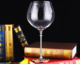 SH-OEM quality handmade long stem rose gold stem wine glass with good offer thick stem red wine glass
